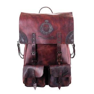 Большой винтажный воскований рюкзак Franko wax brown Big Backpack