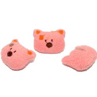 Заготовка для Бизиборда Плюшевый Мишка Тедди 4 см Мягкое Украшение ведмедик для бізіборда