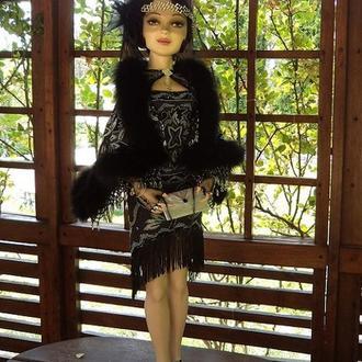 Художественная кукла Джордан Бейкер ( Jordan Baker), Авторская кукла, Будуарная кукла.