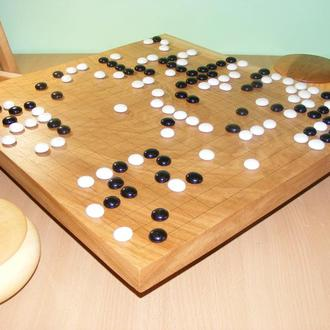 Комплект для игры го 19х19.
