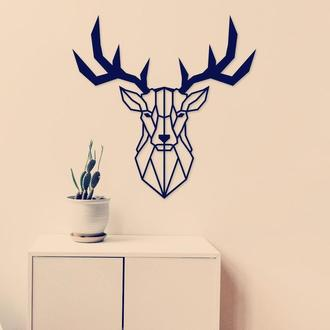 Панно,картина с оленем,подарки,панно олень, Панно! картина с дерева ,лофт , loft, настенный декор