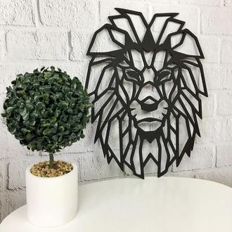 панно лев,Более 30 видов Панно! картина с дерева ,лофт , loft, настенный декор