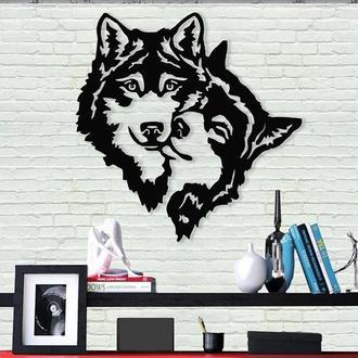 Панно волки,картина волки ,Более 30 видов Панно! картина с дерева ,лофт , loft, настенный декор