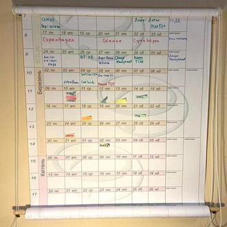 Настенный календарь-планировщик Plan52plus