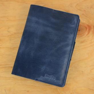 Обложка для ежедневника формата А5|10550| Синий