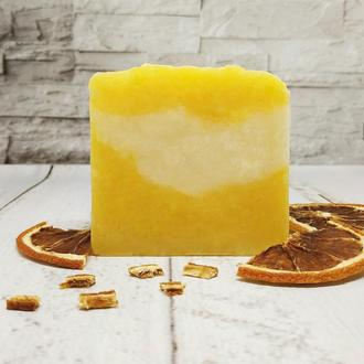 """Натуральное мыло  """"Апельсин-Лимон"""""""