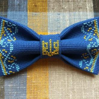 Галстук-бабочка с Украинским гербом