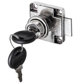 Заготівля для Бизиборда Замочок Меблевий з ключиками Врізний Замок для дверцят Замочок Хром