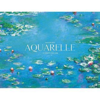 Альбом для акварели MUSE Aquarelle A4 (21х29.7см) 300 г/м2 15 листов