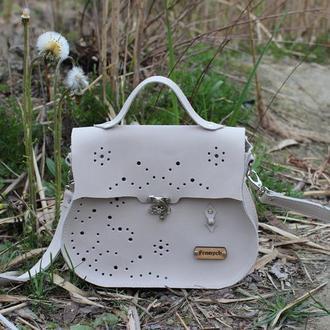 Кожаная сумка  Реги