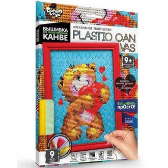Набор для творчества DankoToys DT PC-01-03 вышивка на пластиковой канве
