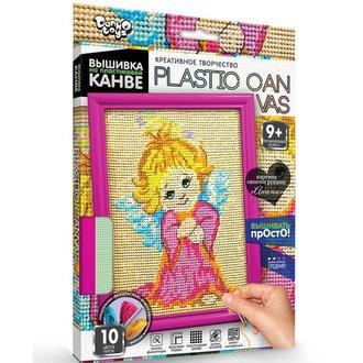 Набор для творчества DankoToys DT PC-01-05 вышивка на пластиковой канве