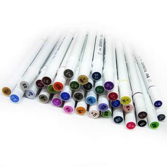 Скетч маркер SketchMarker двусторонний для бумаги 1 шт PM513**