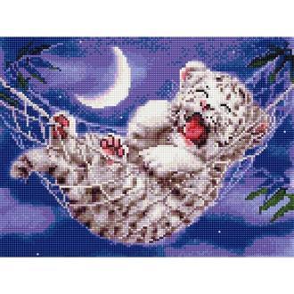 Алмазная живопись мозаика по номерам на холсте 30*40см BrushMe EJ914 Спокойной ночи