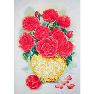 Набор для вышивания Идейка H341 60*80см 14СТ Букет роз 1