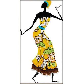 Набор для вышивания Идейка R323-1 27*50см СТ14 Африканские мотивы