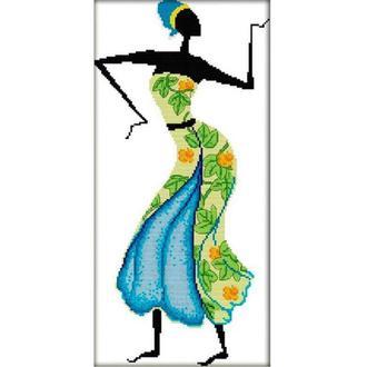 Набор для вышивания Идейка R323-2 25*48см СТ14 Африканские мотивы