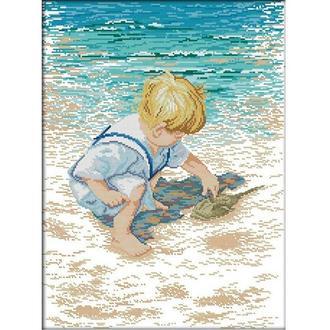Набор для вышивания Идейка R481 40*52см СТ14 На побережье 1