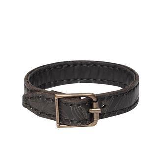 Чорний браслет Franko Nata flowers black Bracelet