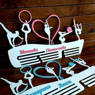 Медальница Художественная гимнастика 50х35 см