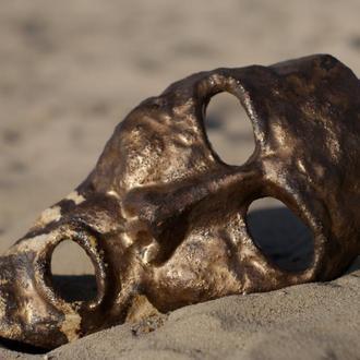 Керамическая маска арт-объект