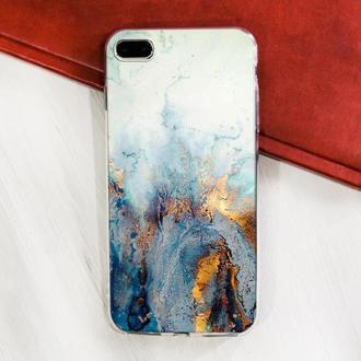 Мраморный чехол для iPhone на заказ