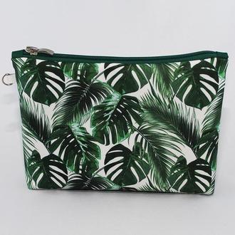 Косметичка «Тропический листья»