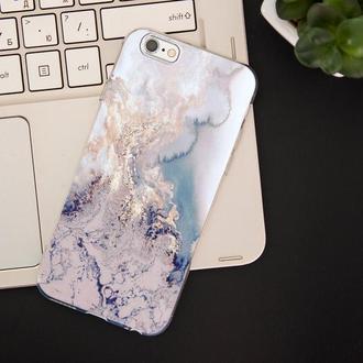 Мраморный чехол для IPhone