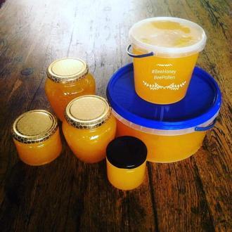 Мёд подсолнечный. Своя пасека. Натуральный.