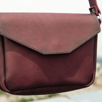 Женская кожаная сумка Лилу