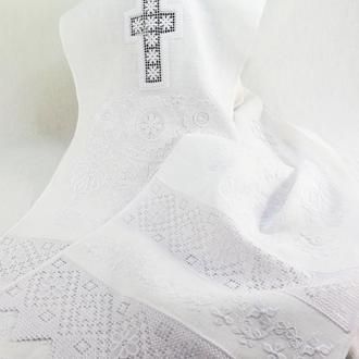 Рушник для иконы Вышитый свадебный Венчальный рушник Рушник в церковь