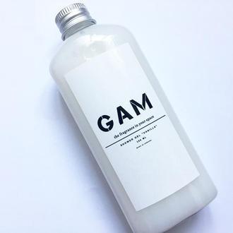 Гель для душа с ароматом ванили, 150 мл.