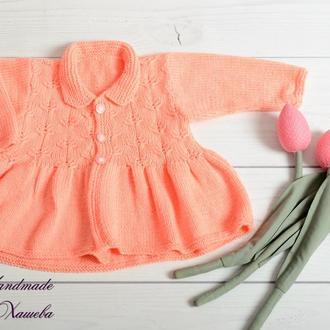 Платье для малышки 9-12мес