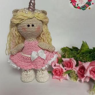 "Интерьерная кукла ""Единорог"""