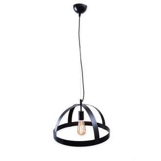 Светильник подвесной металлический черный М003-19