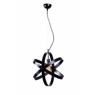 Светильник подвесной металлический черный М005-19