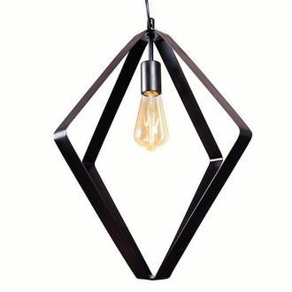 Світильник підвісний металевий чорний М010-19
