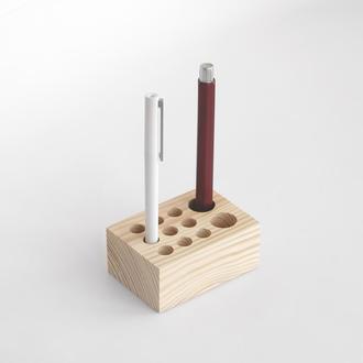 Деревянный держатель для ручек, подставка для карандашей