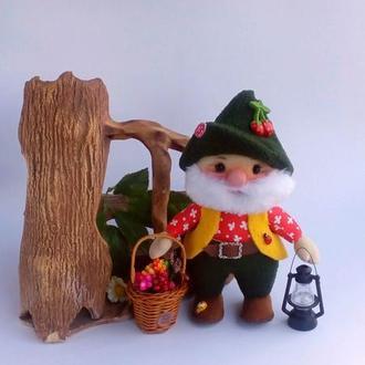 Текстильная кукла Домовой.