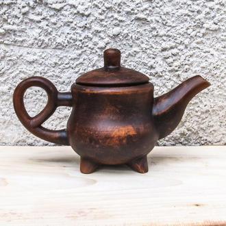 Чайник 1,5 л. из красной глины
