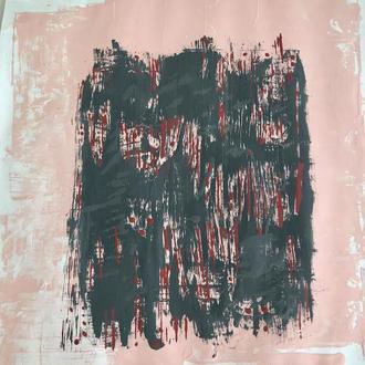 """Авторская Картина """"Lie"""" Абстракция А2 42х59 см Абстрактная живопись Интерьерная живопись"""