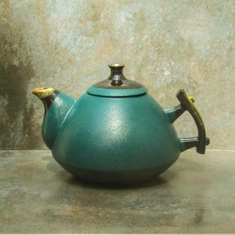 Чайник Горганы 1 л. зеленый
