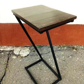 Стол приставной столик кофейный
