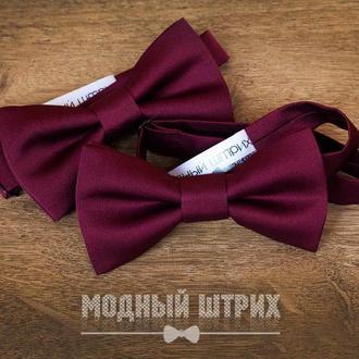 "Краватка метелик ""Wine"""