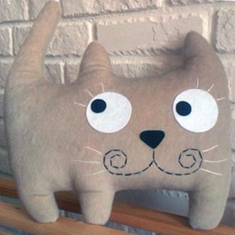 игрушка-подушка Кот Оззи