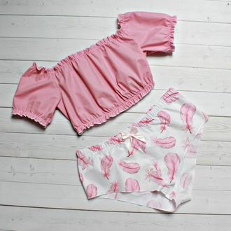 Сатиновая пижама
