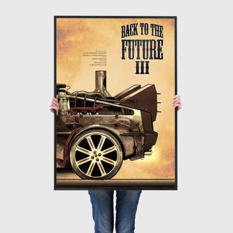 Постер | Картина Назад в Будущее / Back to the Future (BF003)