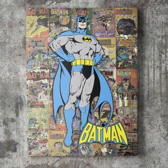 Картина на холсте Бэтмен / Batman (QA005)