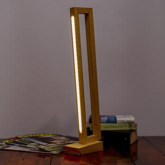 Loft LED лампа с ясеня