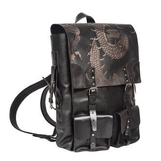 Чорний рюкзак CREEDENCE DRAGON BLACK BACKPACK